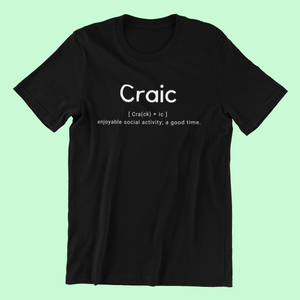 Craic Definition - Short-Sleeve Irish T-Shirt