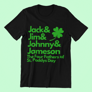 St. Paddys Day 4 Fathers - Short-Sleeve Irish T-Shirt