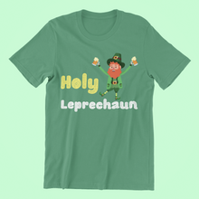 Load image into Gallery viewer, Holy Leprechaun - Short-Sleeve Irish T-Shirt