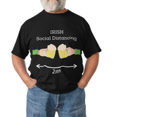 Load image into Gallery viewer, Irish Social Distancing - Short-Sleeve Irish T-Shirt