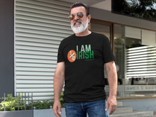Load image into Gallery viewer, I Am 1/10 Irish & Proud - Short-Sleeve Irish T-Shirt