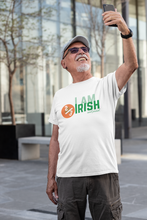 Load image into Gallery viewer, I Am 2/3 Irish & Proud - Short-Sleeve Irish T-Shirt