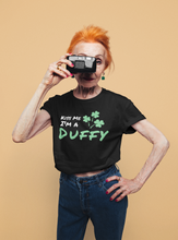 Load image into Gallery viewer, Kiss Me I'm A Duffy - Short Sleeve Irish T-Shirt
