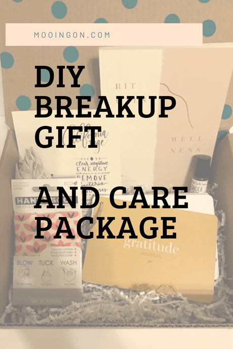 DIY Breakup Gift or Breakup Care Package For Your Bestie