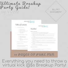 Load image into Gallery viewer, Breakup Party Guide - Instant Download - MooingOn Boxes