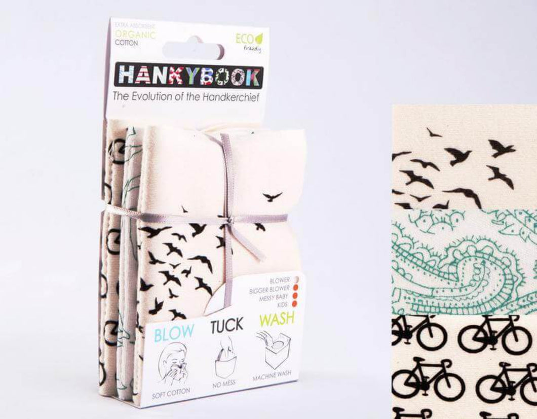 Natural HankyBook | Tissue Replacer - MooingOn Boxes