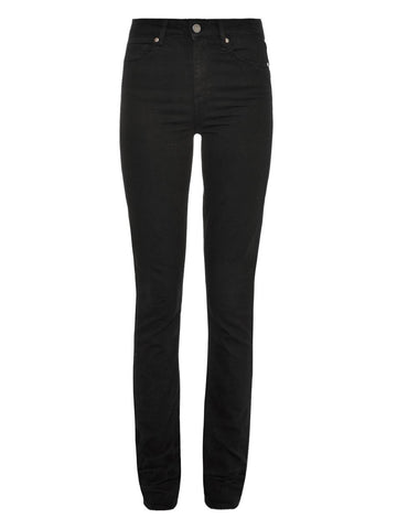 PAIGE HOXTON - HIGH RISE ULTRA SKINNY IN BLACK TRANSCEND
