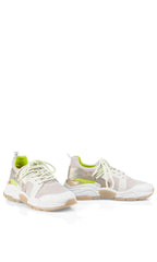 MARC TRAINER MESH TRAINER WITH CHUNKY SOLE AND IRIDESCENT TRIM