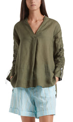 MARC CAIN RAMIE TUNIC TOP