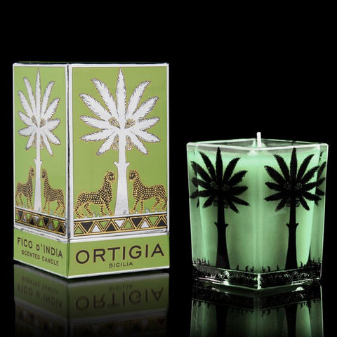 ORTIGIA FICO D'INDIA LARGE SQUARE CANDLE