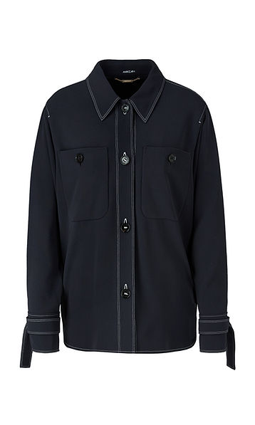 Coming Soon* MARC CAIN MIDNIGHT BLUE SHIRT JACKET
