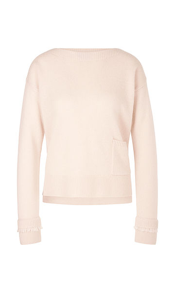 Coming Soon * MARC CAIN CASHMERE BLEND PASTEL PINK SWEATER
