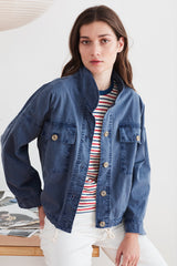 VELVBET By GRAHAM & SPENCER NICOLA COTTON CANVAS JACKET