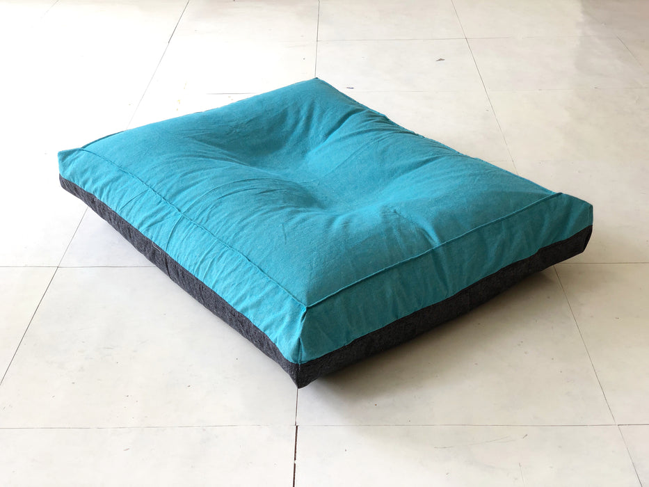 Beluga Blue - Large Doggy Bed