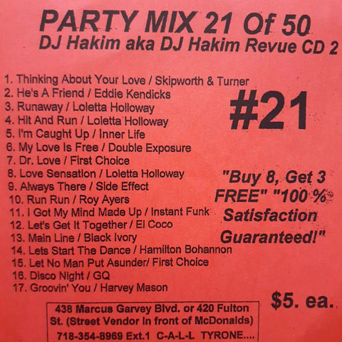 Party CD #21 Awesome Seller