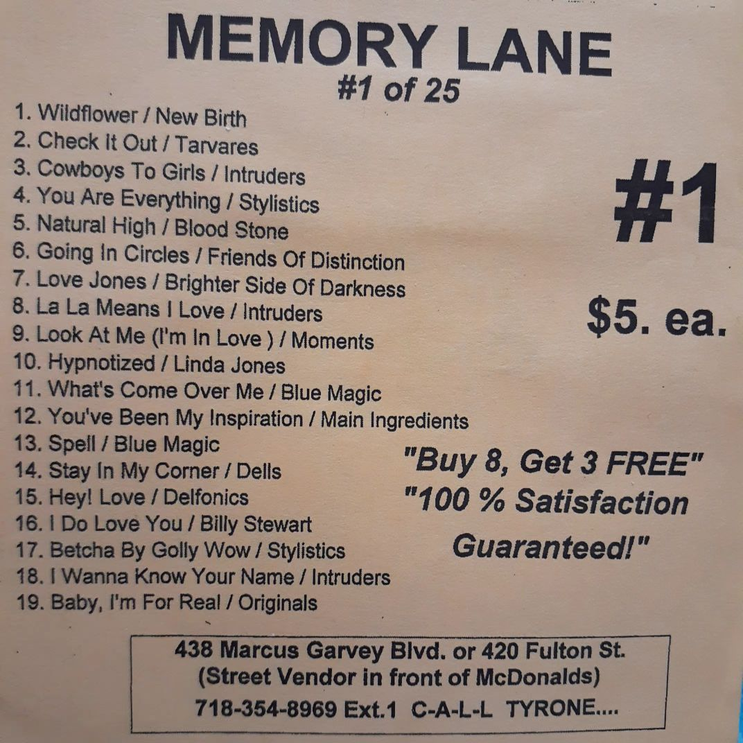 Free Sample download Memory Lane #1