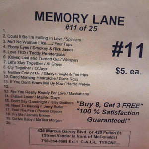 Free Sample download Memory Lane #11