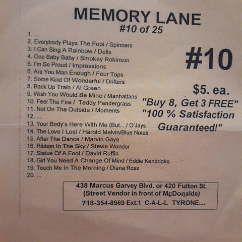 Free Sample download Memory Lane #10
