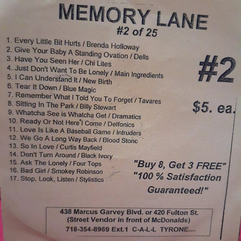 Free Sample download Memory Lane #2