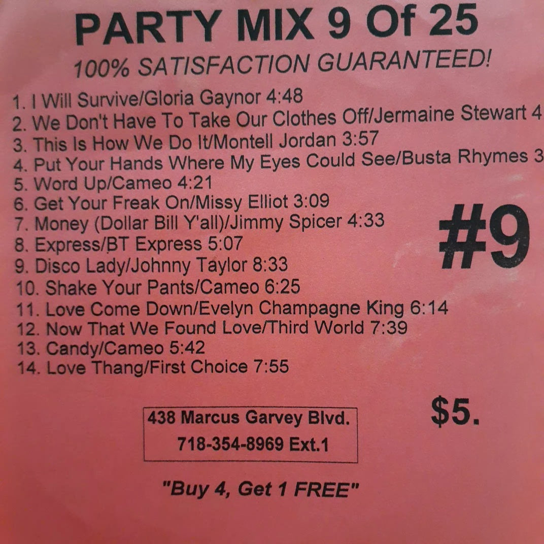 FREE Sample download Party #9