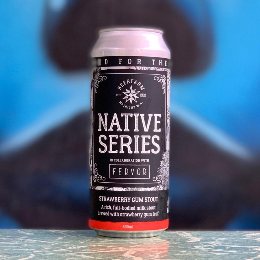 "Beer Farm ""Native Series"" Strawberry Gum Stout"