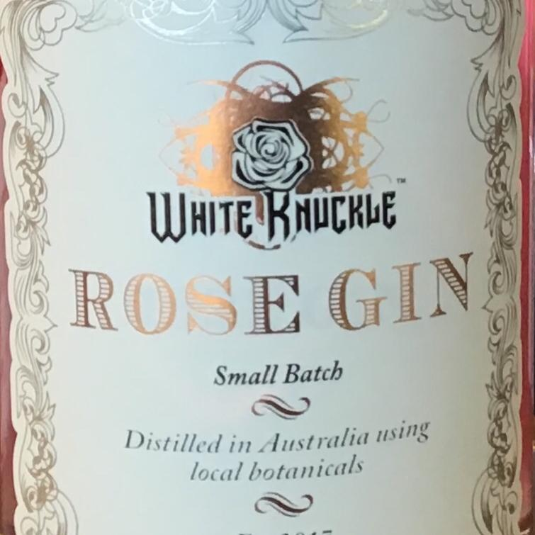 White Knuckle Rose Gin