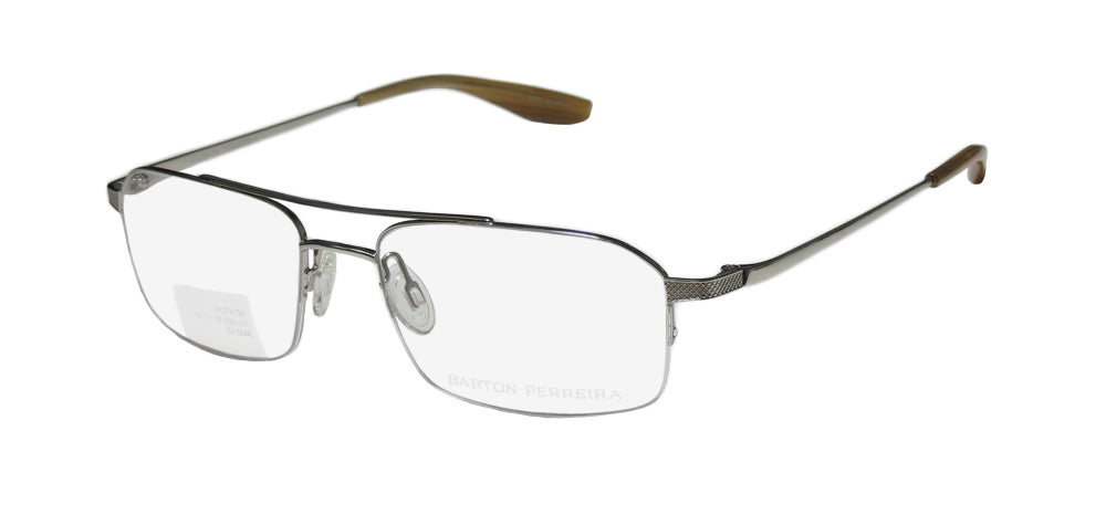 Barton Perreira Newton Masculine Design Sleek Eyeglass Frame/Glasses/Eyewear