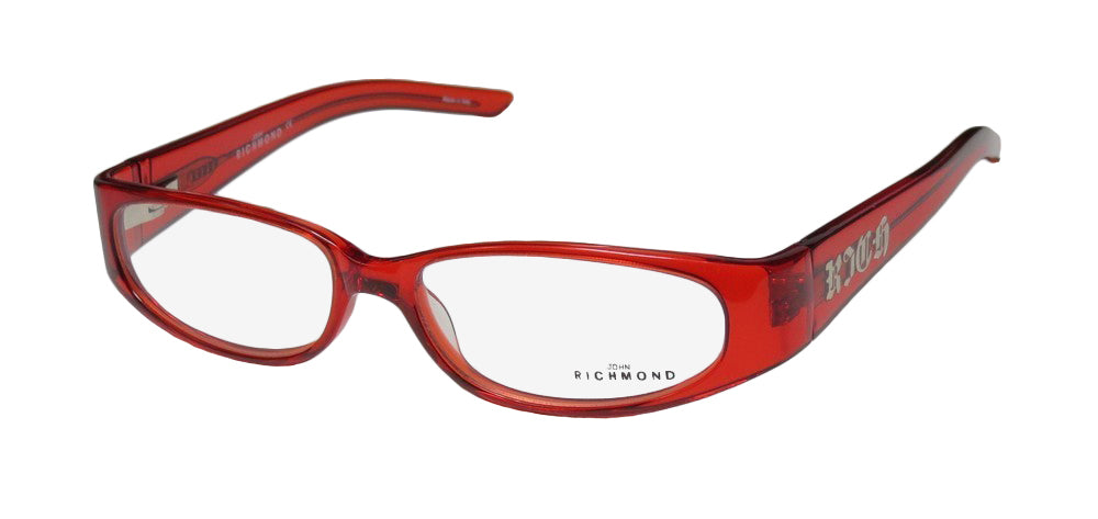 John Richmond 00101 Red Full-rim Womens Eyeglasses Frames