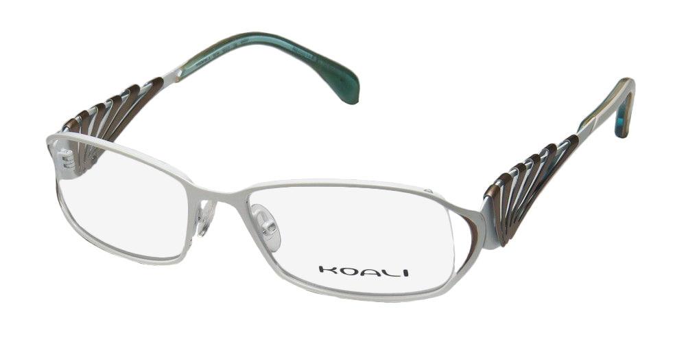 Koali By Morel 6919k Natural Materials Hip Case Fancy Eyeglass Frame/Eyewear