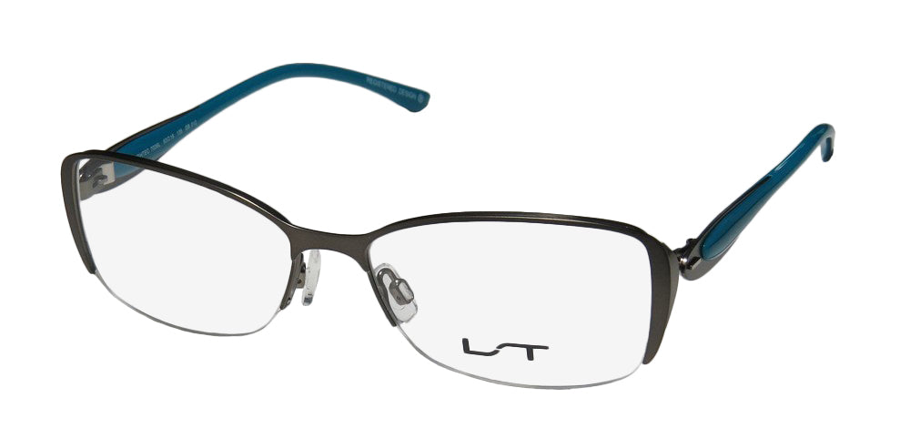 Lightec By Morel 7036l Stainless Steel Contemporary Eyeglass Frame/Glasses
