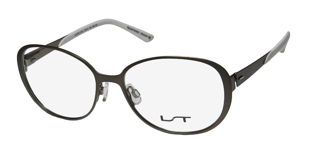 Lightec By Morel 7010l Stainless Steel Premium Trendy Eyeglass Frame/Glasses
