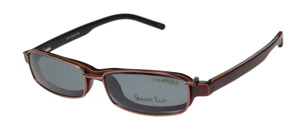 Smartclip 920 With Polarized Sunglass Clip-On Lenses Eyeglass Frame/Glasses