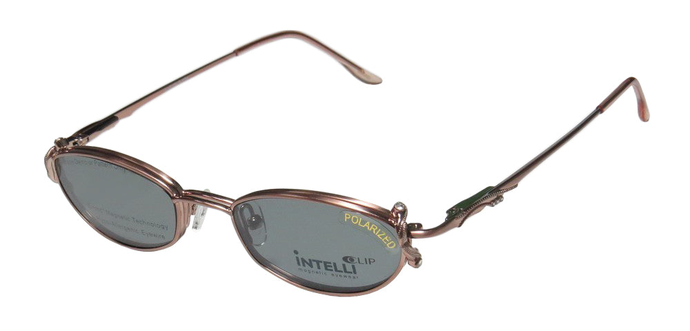 Elite Eyewear Intelli Clip 750 Strass Sunglass Clipon Eyeglass Frame/Glasses