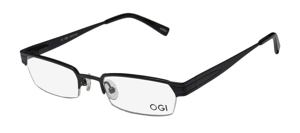 Ogi 2238 Gorgeous Half-Rimless Authentic Hot Eyeglass Frame/Glasses/Eyewear