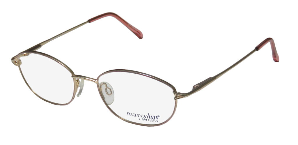 Marcolin 7218 Full-Rim Retro Sleek Ophthalmic Eyeglass Frame/Glasses/Eyewear
