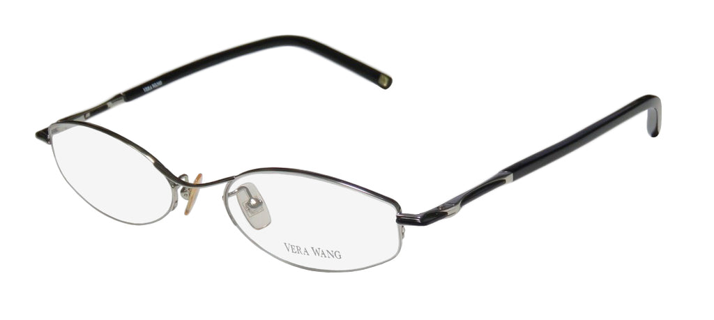 Vera Wang V105 Half-Rimless Sophisticated Hip Eyeglass Frame/Glasses/Eyewear
