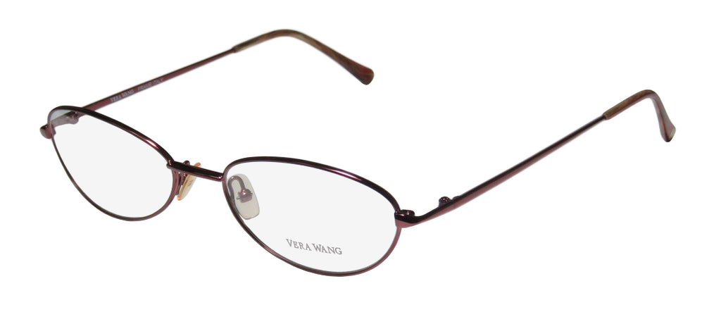Vera Wang V42 Elegant & Simple Cat Eye Eyeglass/Glasses Imported From Italy