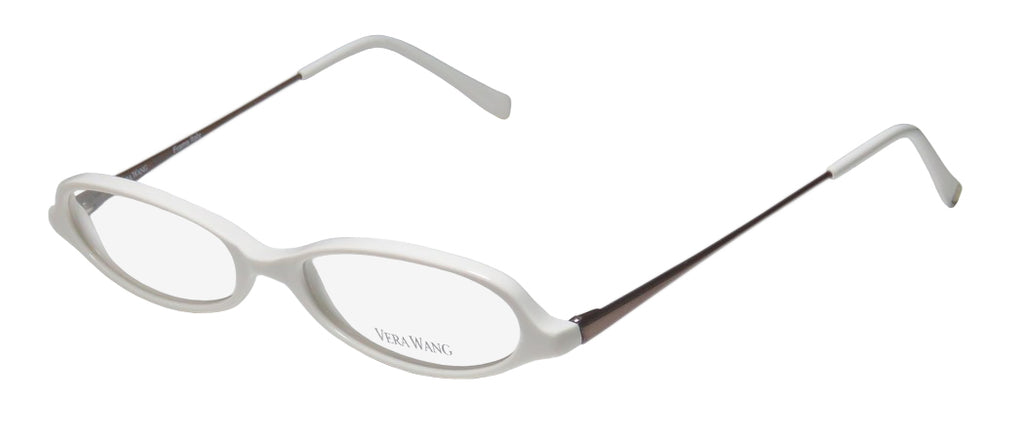 Vera Wang V46 Designer Sleek European Cat Eye Eyeglass Frame/Glasses/Eyewear