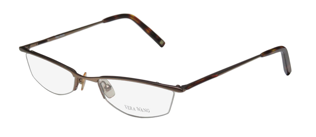 Vera Wang V106 School Teacher Look Elegant Cat Eye Eyeglass Frame/Glasses