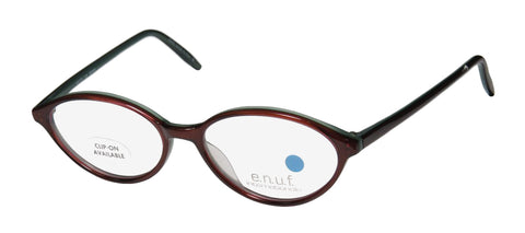 E.N.U.F Folk Berry Full-rim Womens/Mens Eyeglasses Frames