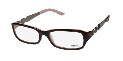 Missoni 11302 Signature Logo Hip Eyeglass Frame/Glasses/Eyewear Italy Made