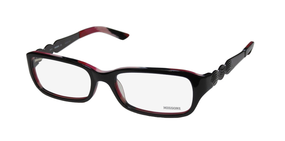 Missoni 11301 Popular Shape Hip Eyeglass Frame/Eyewear/Glasses Made In Italy