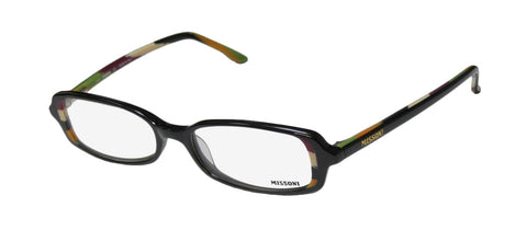 Missoni 08802 Elegant Eyeglass Hip Frame/Eyewear/Glasses Imported From Italy