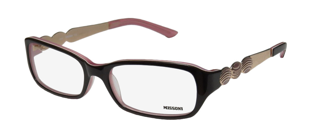 Missoni 11303 Glamorous Genuine Eyeglass Frame/Glasses/Eyewear Made In Italy