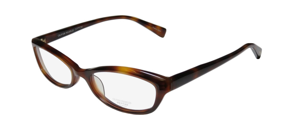 Oliver Peoples Marceau Stunning Sleek Cat Eye Eyeglass Frame/Glasses/Eyewear