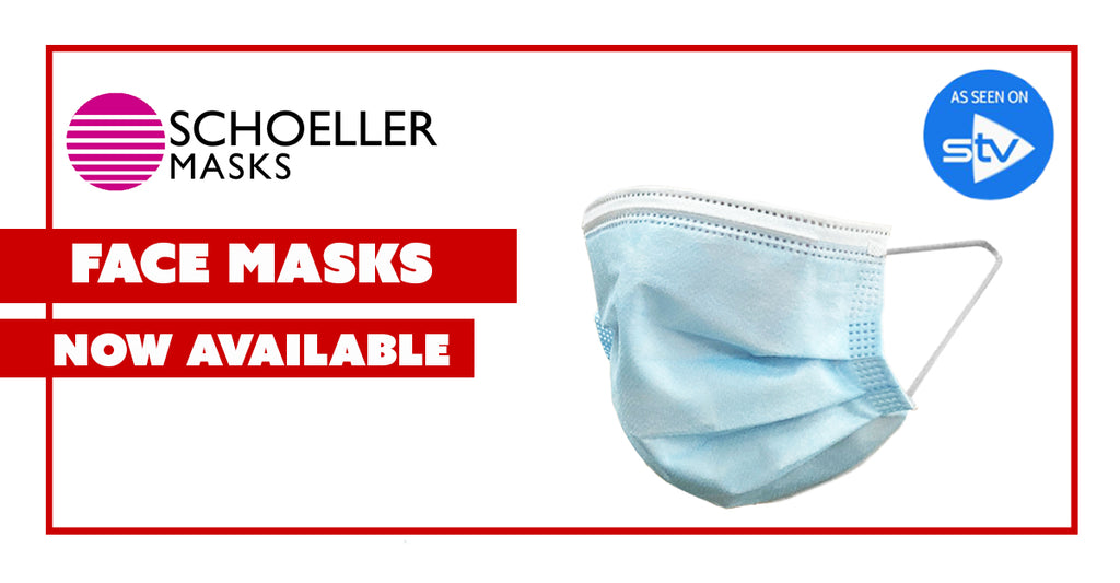 Protect your Customers with 4-Ply Disposable Face Masks