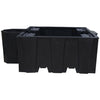 IBC Spill Pallet (For 1 x 1000ltr IBC With Integral Dispensing Area) - BB1D (Black)