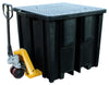 Recycled Polyethylene IBC Spill Pallet (With 4way FLT Access) - BB1FWR