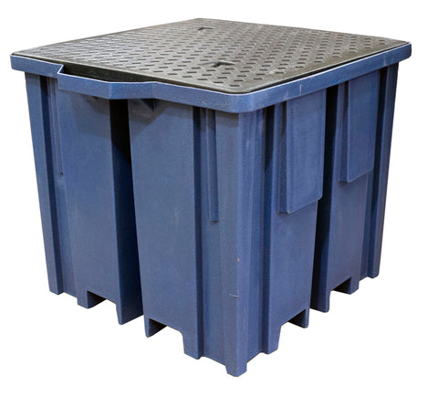 IBC Spill Pallet (With 4 Way FLT access for 1 x 1000ltr IBC) - BB1FWDB