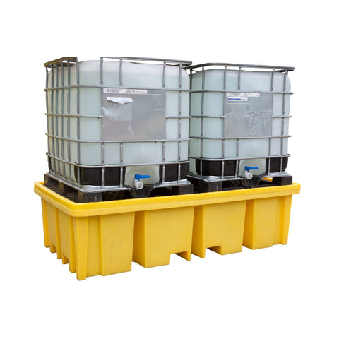 Double IBC Bund Pallet (With Four Way Access) - BB2FW